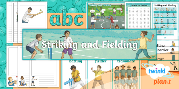 PE: Striking and Fielding Year 3 Additional Resources