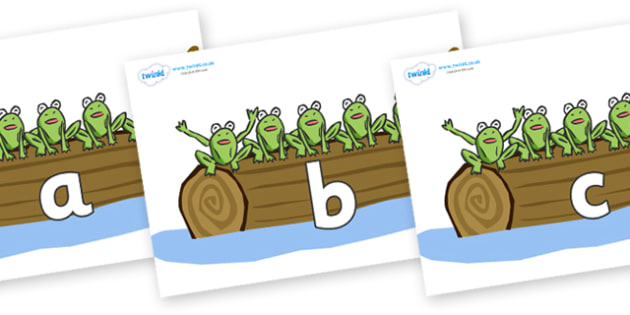Phase 2 Phonemes on Little Speckled Frogs - Phonemes, phoneme, Phase 2, Phase two, Foundation, Literacy, Letters and Sounds, DfES, display