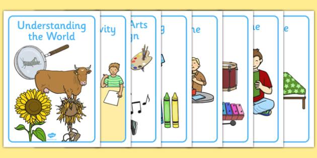 Visual Timetable Posters for Nursery - visual timetable, posters, display, nursery