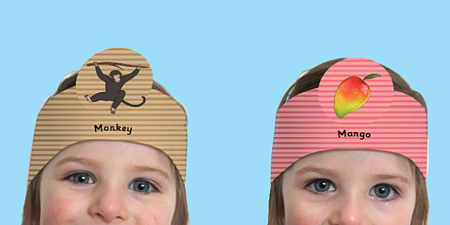 Role Play Headbands to Support Teaching on Handa's Surprise - activity, activities