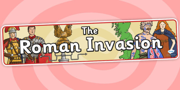 The Roman Invasion Display Banner - roman, display banner, banner