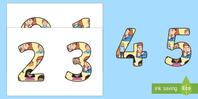 Todo sobre mí Números de exposición - Todo sobre mí, proyecto, trans-curricular, yo, mí mismo, números, grandes, contar