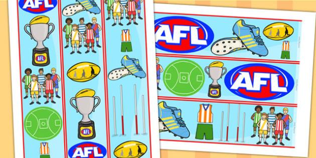 Australian Football League Display Border - sports, foot ball