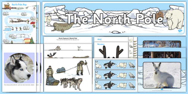 North Pole Role Play Pack - north pole, arctic, santa, winter, role play, polar, snow, christmas, december, january, eyfs, early years
