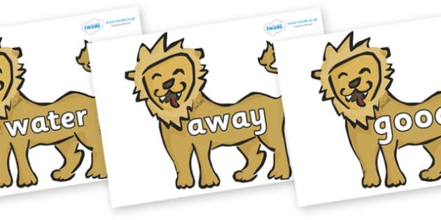 Next 200 Common Words on Lions - Next 200 Common Words on  - DfES Letters and Sounds, Letters and Sounds, Letters and sounds words, Common words, 200 common words