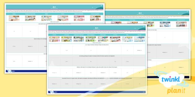 PlanIt - Art - Subject Overview - planit, art, subject overview, subject, overview, ks1, uks2, lks2, units