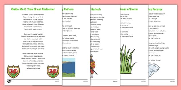 Elderly Care St David's Song Words - Elderly, Reminiscence, Care Homes, St. David's Day
