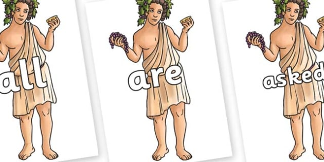 Tricky Words on Dionysus - Tricky words, DfES Letters and Sounds, Letters and sounds, display, words