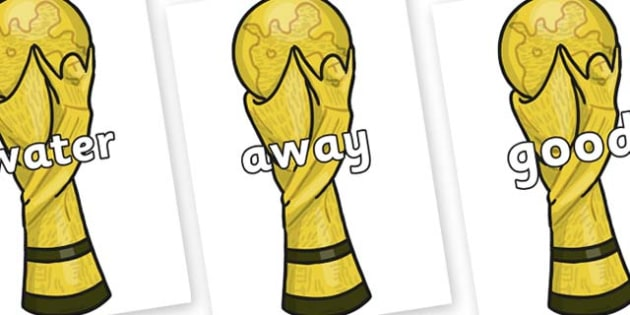 Next 200 Common Words on World Cup Trophy - Next 200 Common Words on  - DfES Letters and Sounds, Letters and Sounds, Letters and sounds words, Common words, 200 common words