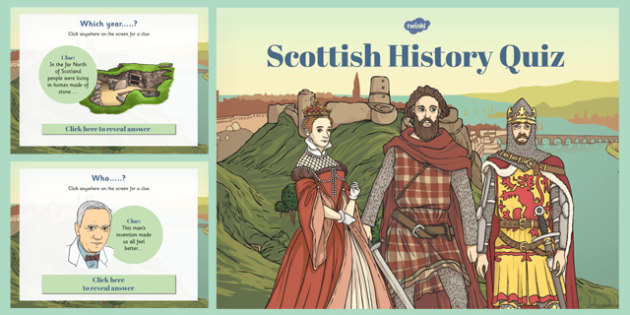 Scottish History Timeline Quiz - scottish, history, timeline