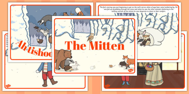 The Mitten Story - the mitten, story, story book, book, mitten