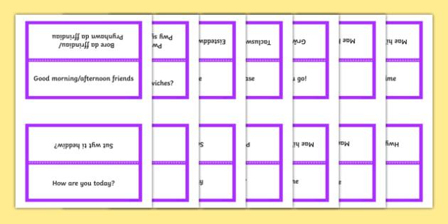 Word Cards for Bocs or Bag Helpwr Heddiw Year 3 and 4 bilingual resource - bocs bendigedig, Word Cards, Welsh Second Language, Helpwr Heddiw