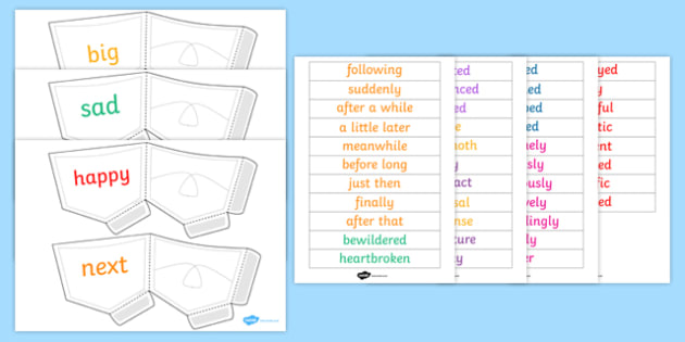 Ready Made Interesting Words Display Pack - displays, interest