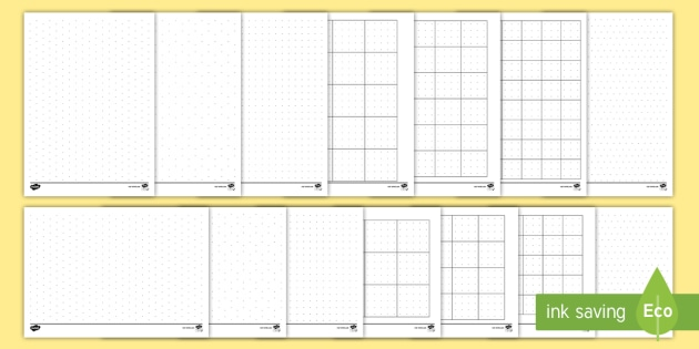 Dotty Paper Resource Pack  Ks Maths Isometric Dot Paper