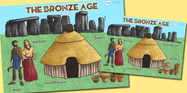 Large Bronze Age Display Poster - bronze age, poster, history