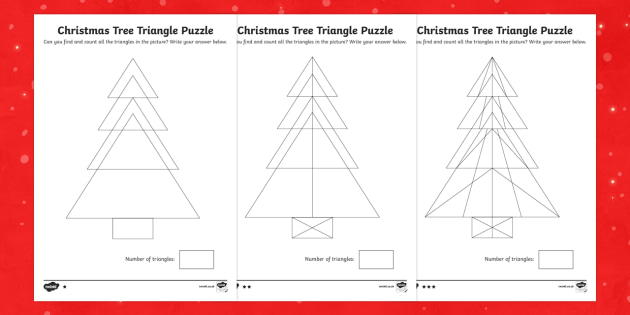 Tree Triangles Activity