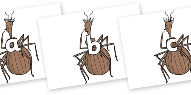 Phase 2 Phonemes on Miss Spider to Support Teaching on James and the Giant Peach - Phonemes, phoneme, Phase 2, Phase two, Foundation, Literacy, Letters and Sounds, DfES, display