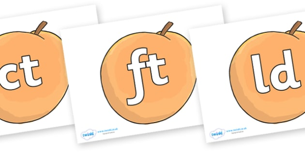 Final Letter Blends on Giant Peach to Support Teaching on James and the Giant Peach - Final Letters, final letter, letter blend, letter blends, consonant, consonants, digraph, trigraph, literacy, alphabet, letters, foundation stage literacy