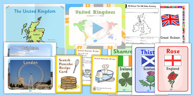 United Kingdom Teaching Pack - united kingdom, teaching, pack