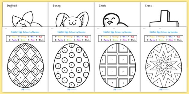 Bumper Easter Colouring Activity Book - easter, activity, book