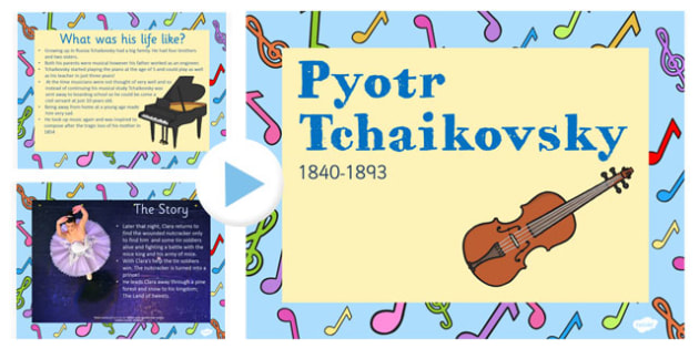 Tchaikovsky the Nutcracker Information PowerPoint Presentation