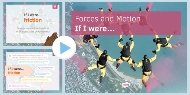 KS3 Forces and Motion If I were.... PowerPoint