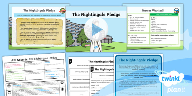 Significant Individuals: Florence Nightingale: Persuasive Writing 1 Y2 Lesson Pack - Nurses, Victorians, Crimean war, mini topic, year one history, Mary Seacole