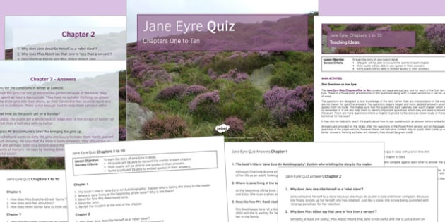 jane eyre chapter 3 pdf