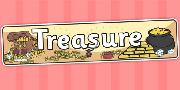 Treasure Display Banner - treasure, IPC, banner, display