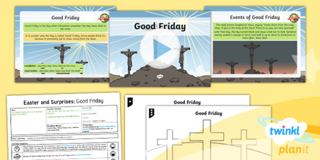 RE: Easter and Surprises: Good Friday Year 1 Lesson Pack 3
