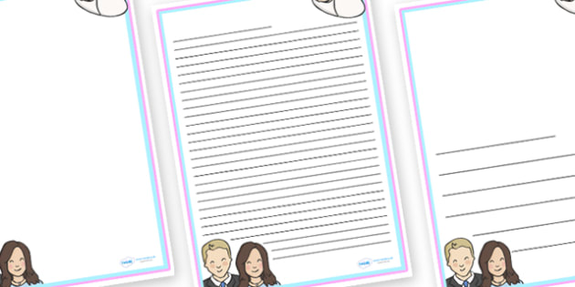 Congratulations Kate and Will Letter Writing Templates - writing template, template, writing, frame,  congratulations, kate and will, congratulations kate and will, congratulatory letter, letter writing, letter writing frame, writing aid, writing fra