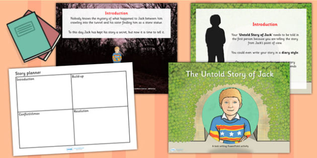 Untold Story of Jack Differentiated Lesson Teaching Pack to Support Teaching on The Tunnel by Anthony Browne, the tunnle