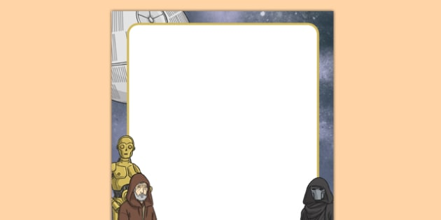 Space Wars Themed Editable Display Poster - space wars, star wars, space, wars, star, display, poster
