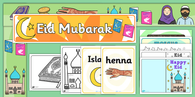 Ready Made Eid Display Pack - displays, visuals, visual, religion