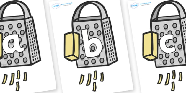 Phoneme Set on Cheese Graters - Phoneme set, phonemes, phoneme, Letters and Sounds, DfES, display, Phase 1, Phase 2, Phase 3, Phase 5, Foundation, Literacy