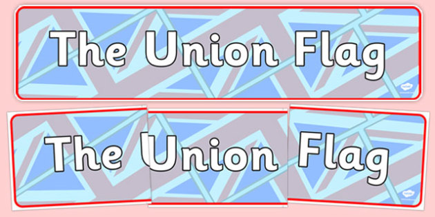 The Union Flag Display Banner - cfe, union flag, display banner, display, banner