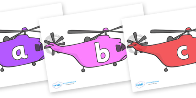 Phase 2 Phonemes on Helicopters - Phonemes, phoneme, Phase 2, Phase two, Foundation, Literacy, Letters and Sounds, DfES, display