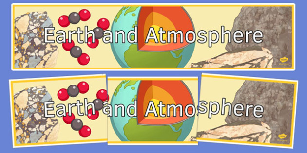 Earth and Atmosphere Display Banner - display banner, display, banner, earth and atmosphere