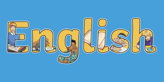 English Display Lettering - english, display lettering, English lettering, English display, English display lettering