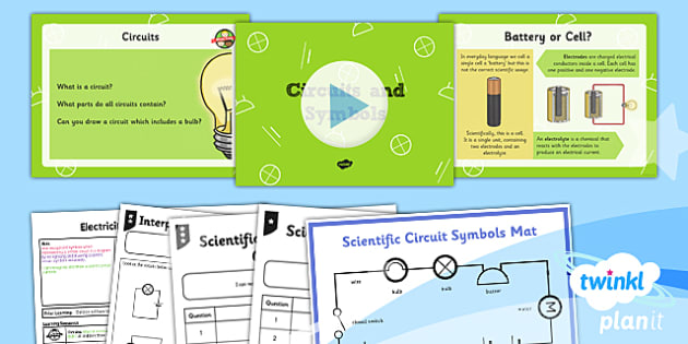Science: Electricity: Circuits and Symbols Year 6 Lesson Pack 2
