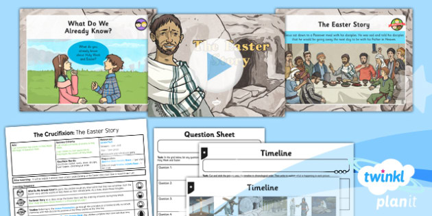 RE: Free Will and Determinism - The Crucifixion: The Easter Story Year 6 Lesson Pack 1