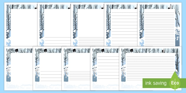 What's in the Wardrobe? Page Border Pack - The Lion, the Witch and the Wardrobe, c s lewis, narnia, page borders