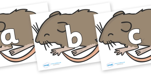 Phoneme Set on Mice - Phoneme set, phonemes, phoneme, Letters and Sounds, DfES, display, Phase 1, Phase 2, Phase 3, Phase 5, Foundation, Literacy