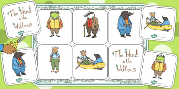 The Wind in the Willows Matching Mat SEN - mats, activity, match