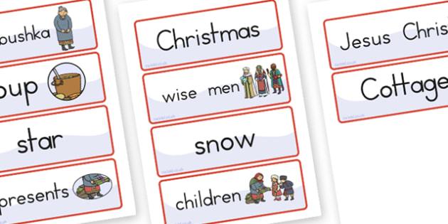 Babushka Word Cards - australia, babushka, word cards, word, card