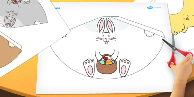 Afrikaans Easter Cone Animals - afrikaans, easter, cone, animals