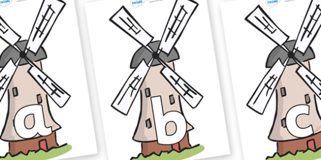 Phoneme Set on Windmills - Phoneme set, phonemes, phoneme, Letters and Sounds, DfES, display, Phase 1, Phase 2, Phase 3, Phase 5, Foundation, Literacy
