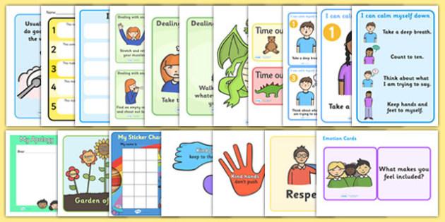 Behaviour Management Resource Pack - behaviour management, resource pack, resources, behaviour, class management, behaviour pack, class behaviour