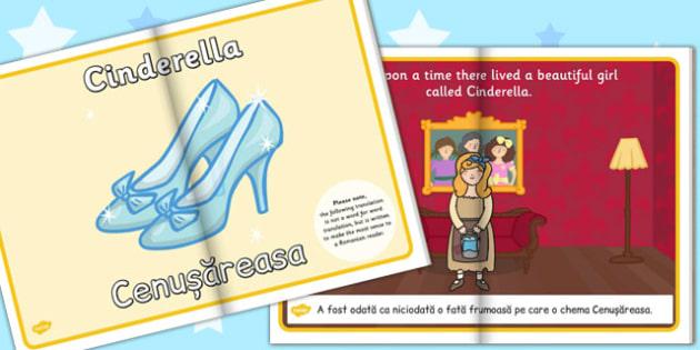 Cinderella eBook EAL Romanian Translation - Romanian, ebook