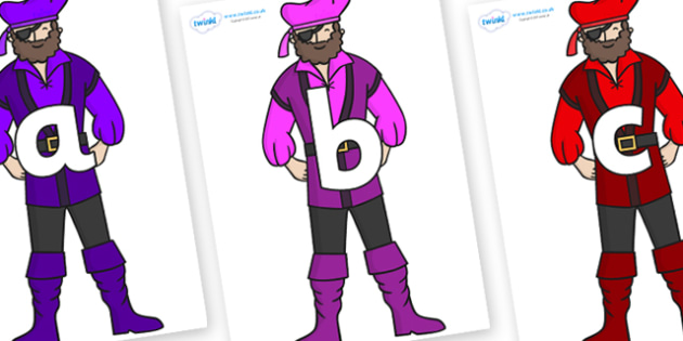 Phoneme Set on Pirates - Phoneme set, phonemes, phoneme, Letters and Sounds, DfES, display, Phase 1, Phase 2, Phase 3, Phase 5, Foundation, Literacy